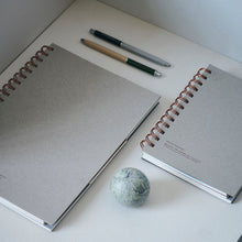 Notebook, Tome, Grey- Large