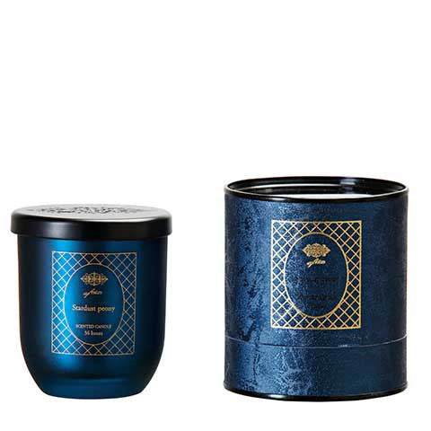 Stardust peony scented candle