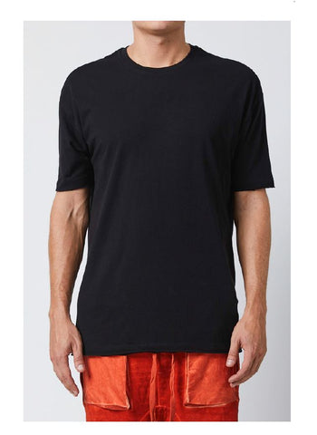 thom/krom SS19 T S 433 Mens T Shirt black