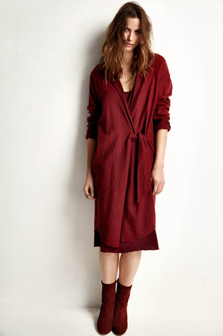 AW18 Humanoid Avie dress - colour wine