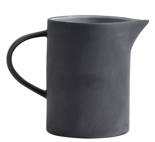 Stoneware pitcher - grey