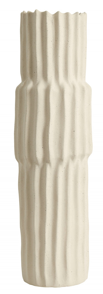 NAGO tall vase, L, white