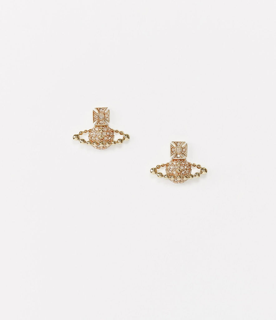 Vivienne Westwood Lena Bas Relief Earrings - gold