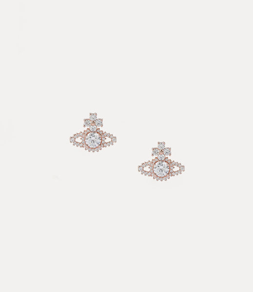 Vivienne Westwood Valentina Earrings - Pink Gold