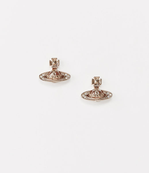 Vivienne Westwood Pina Bas Earrings - pink gold