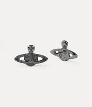 Vivienne Westwood Mini Bas Relief Earrings - Ruthenium