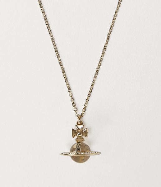Vivienne Westwood Pina Small Orb Pendant - Gold Crystal