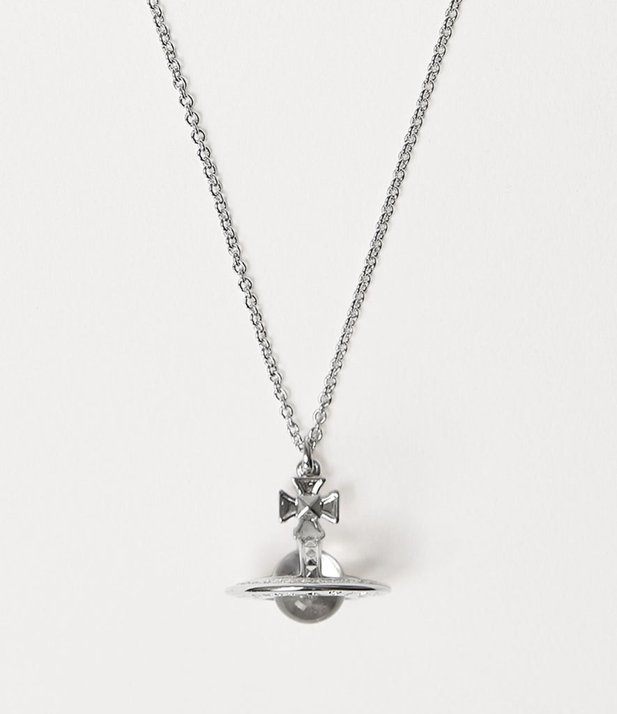 Vivienne Westwood PINA SMALL ORB PENDANT SILVER TONE