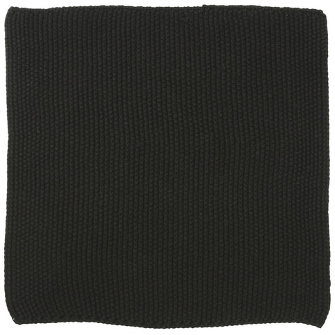 Dish Cloth - Mynthe Pure Black Knitted