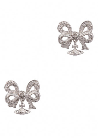 Vivienne Westwood Silver Earrings - rhodium