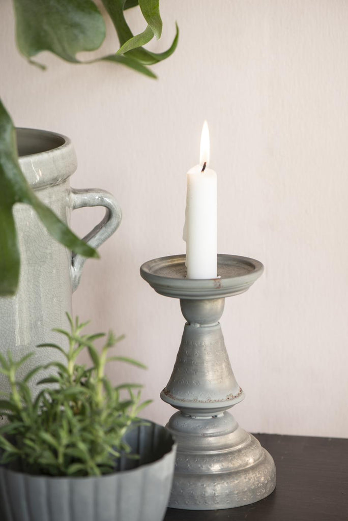 Pillar Candle Holder - Metal
