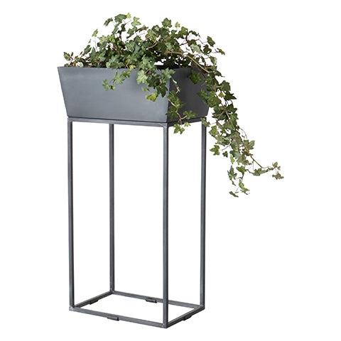Plant Pot Pedestal Grey