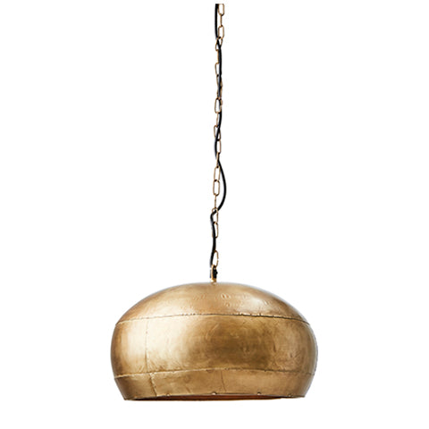 Brass Coloured Hanging lamp M