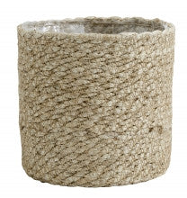 Jute Rope basket with PVC inner