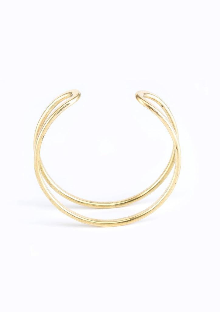 Tuereg brass bangle