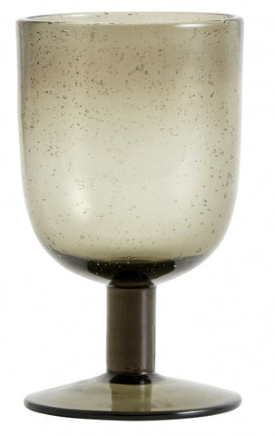 Maroc Wine Glass- Smoke