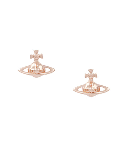 Vivienne Westwood Lorelei Stud Earrings- Pink Gold