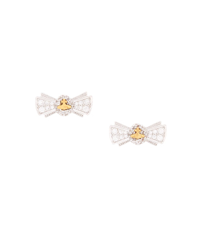 Vivienne Westwood Pamela Small Earrings- Rhod