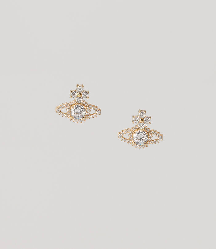 Copy of Vivienne Westwood Valentina Earrings - Gold