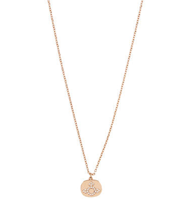 Vivienne Westwood Milano Pendant - Pink gold