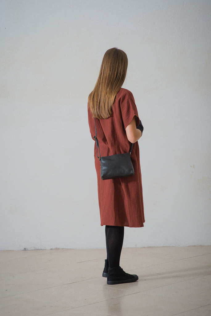 CollardManson Elsie Bag- Brown Leather