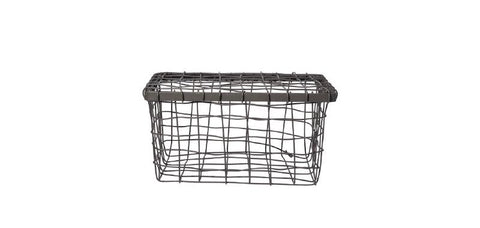 Wire Basket with Lid