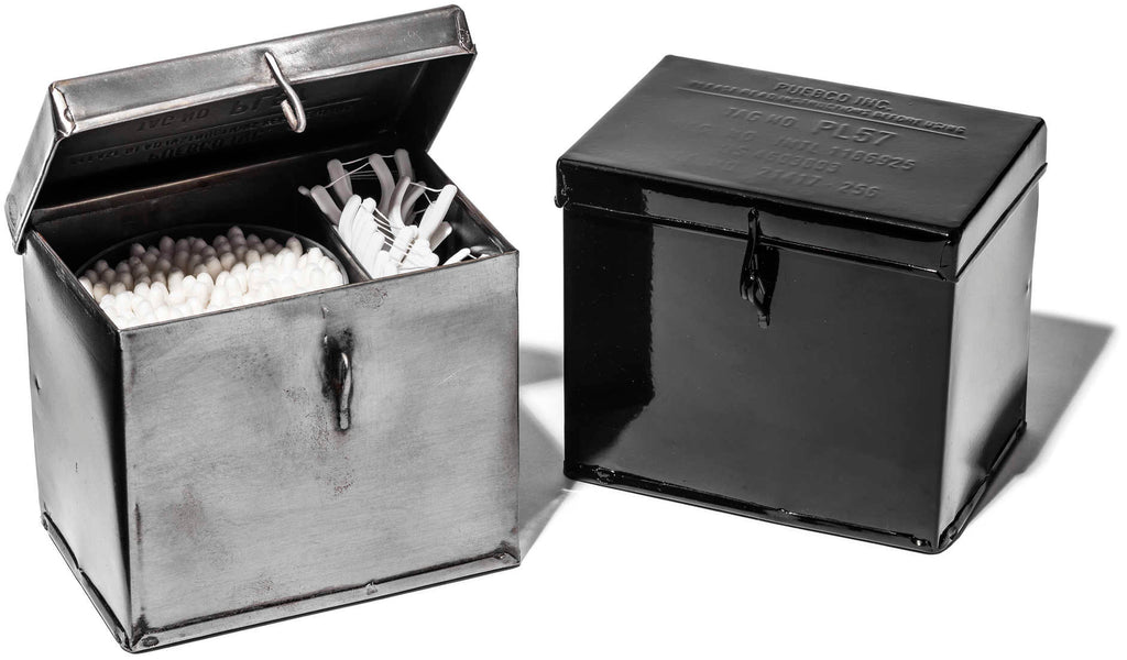 Steel Container Small - Black