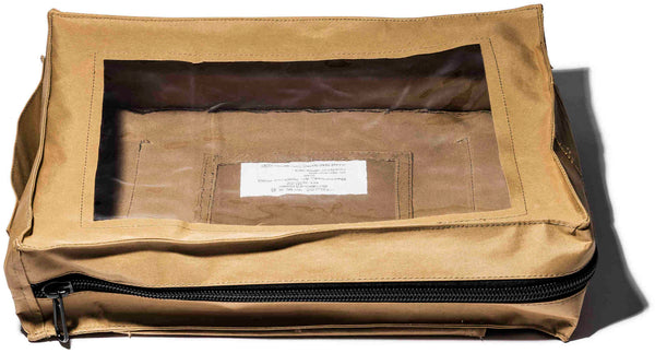 Rubberized Fabric Flight Pouch
