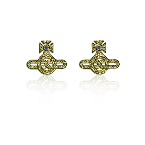 Vivienne Westwood Infinity Earrings - Gold