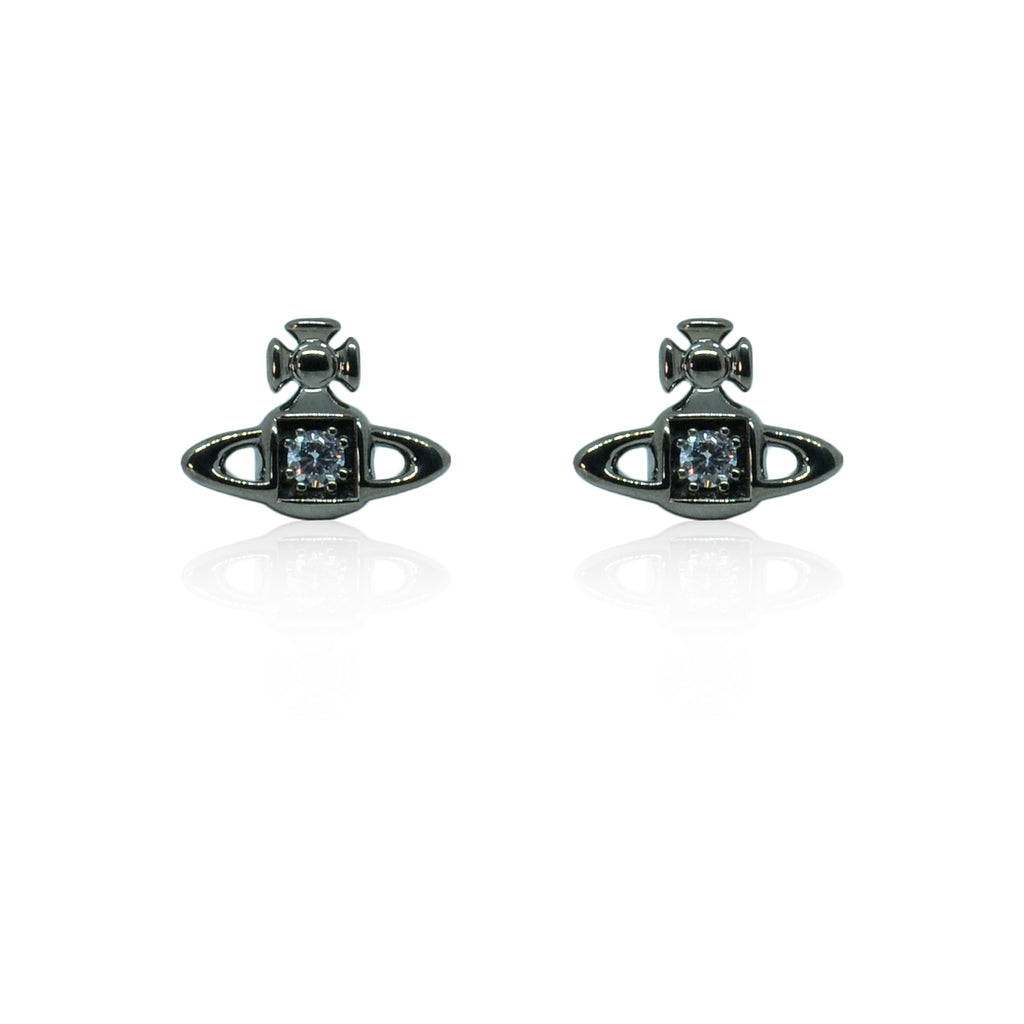 Vivienne Westwood Mathilde Earrings - Ruthenium