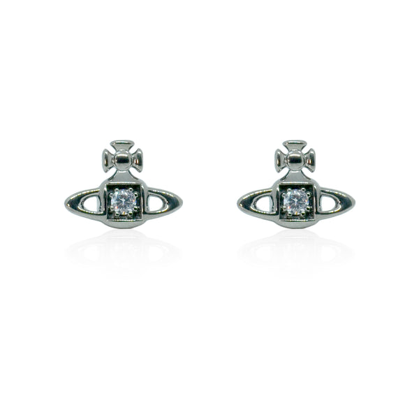 Vivienne Westwood Mathilde Earrings - Rhodium