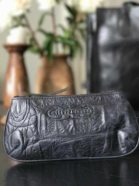 CollardManson Ruby Purse black croc