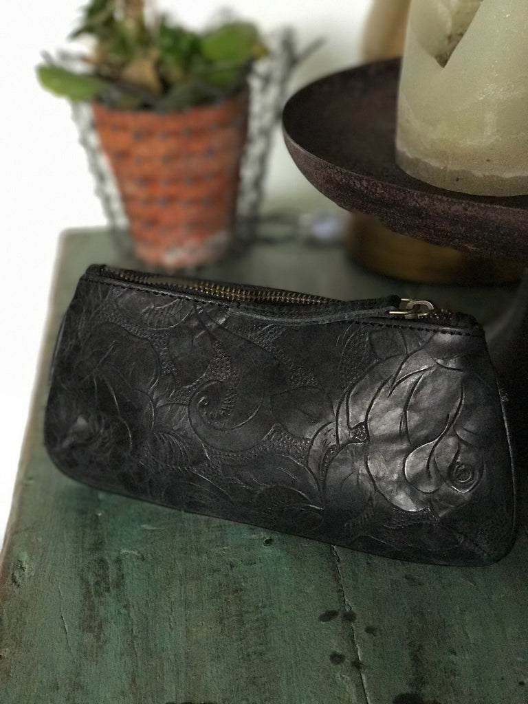 CollardManson Ruby Purse black floral