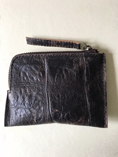 WDTS Brown Croc Leather Wallet