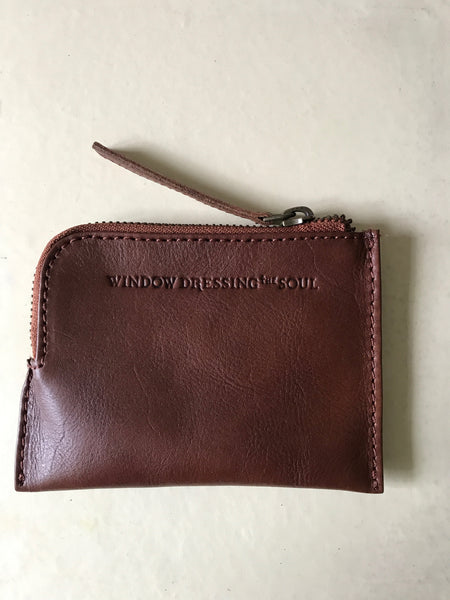 WDTS Tan Leather Wallet