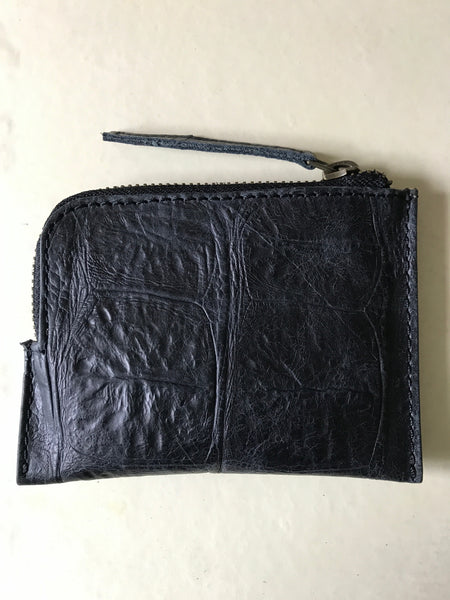 WDTS Black Croc Leather Wallet