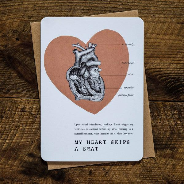 My Heart Skips a Beat Card