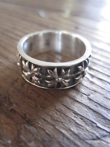 925 Silver Multi Patonce Cross Ring
