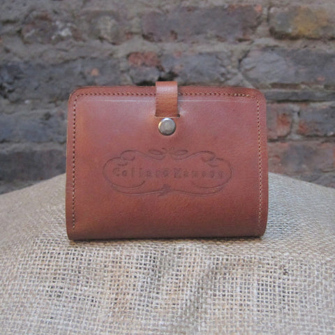 CollardManson Nicholai Wallet - Tan