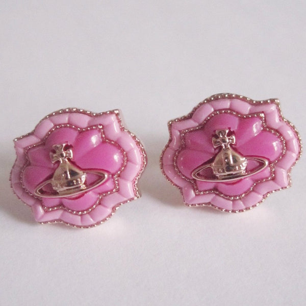 Vivienne Westwood Julianne Earrings - Pink Gold