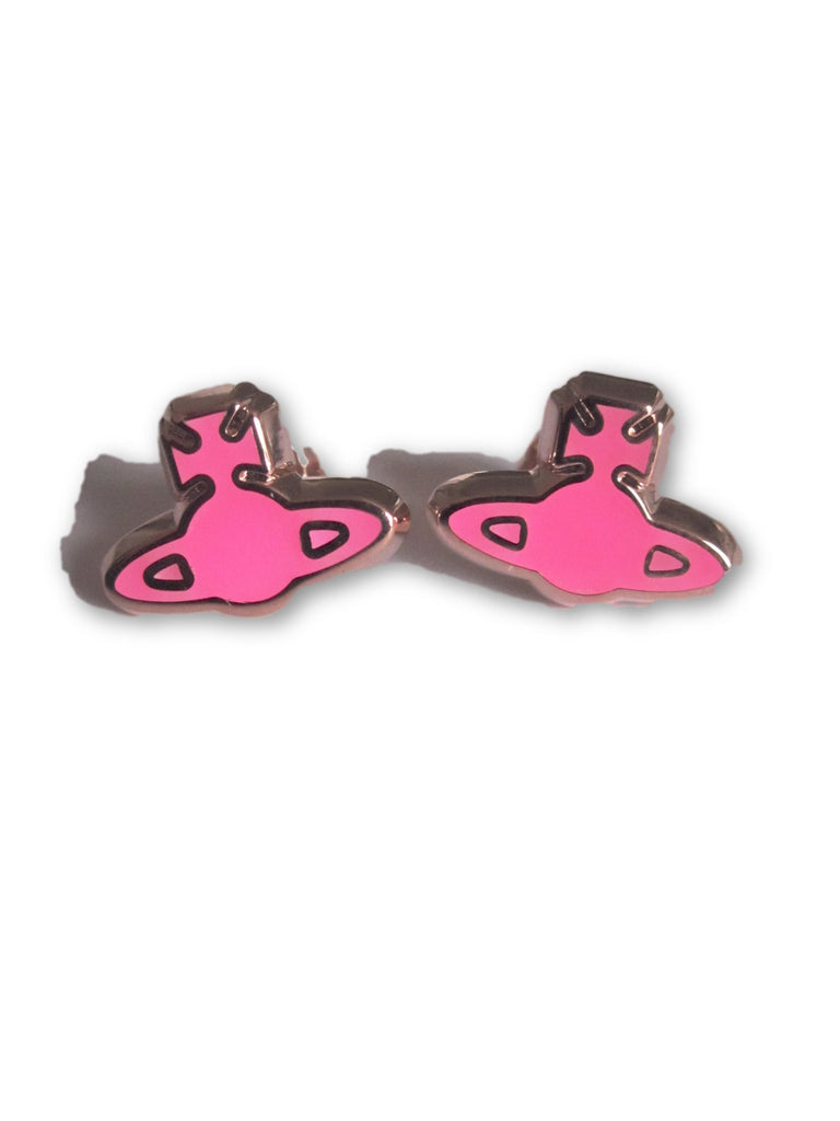 Vivienne Westwood Gladys Earrings - Gold/Pink Gold