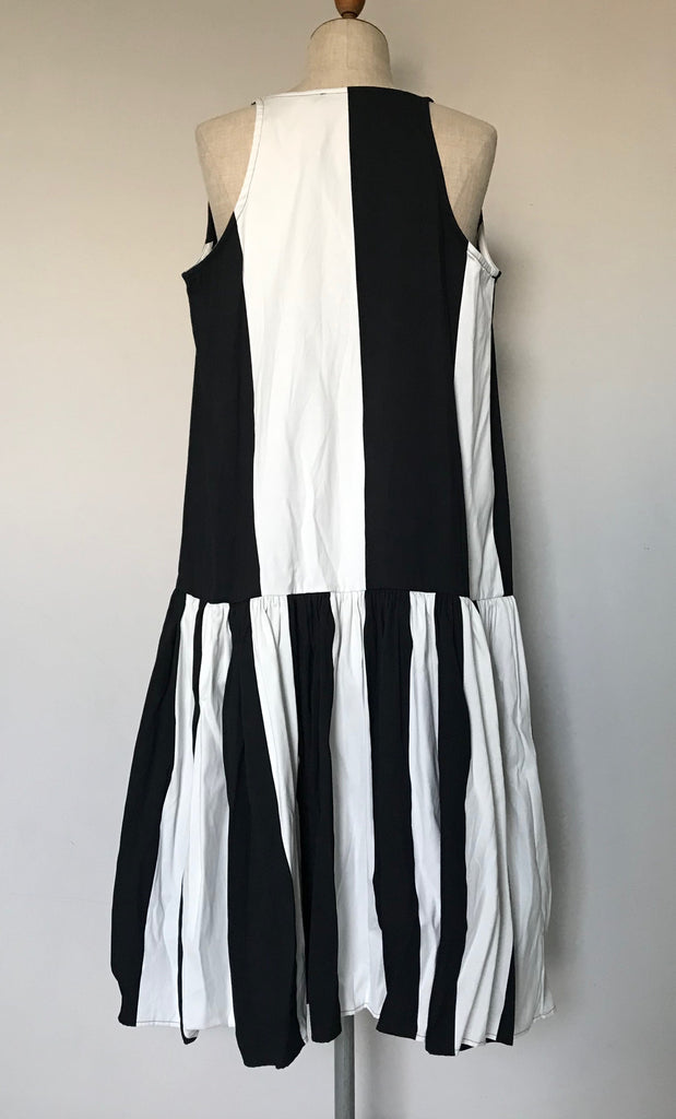 Rundholz SS19 109 0902 Dress black stripe