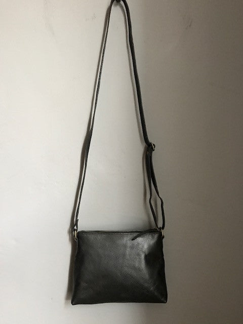 CollardManson Elsie Bag- Black Leather