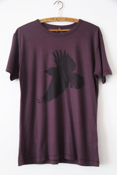 Window Dressing The Soul- Crow Jersey T Shirt wine