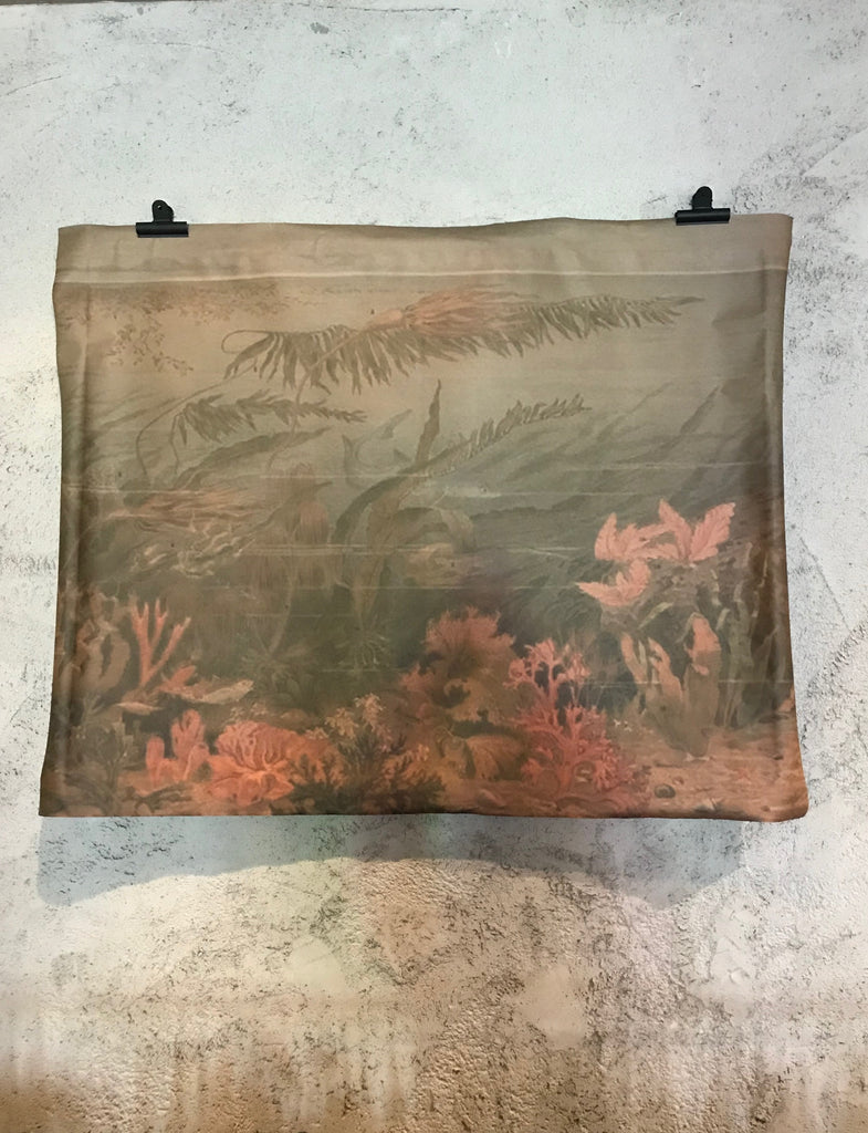 Paper sheet wall hanging - Coral
