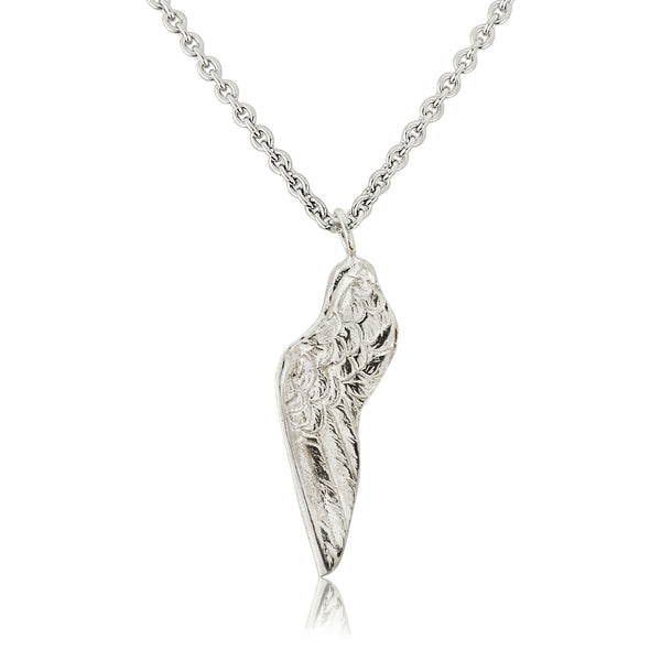 925 silver - Small Wing Necklace - Silver