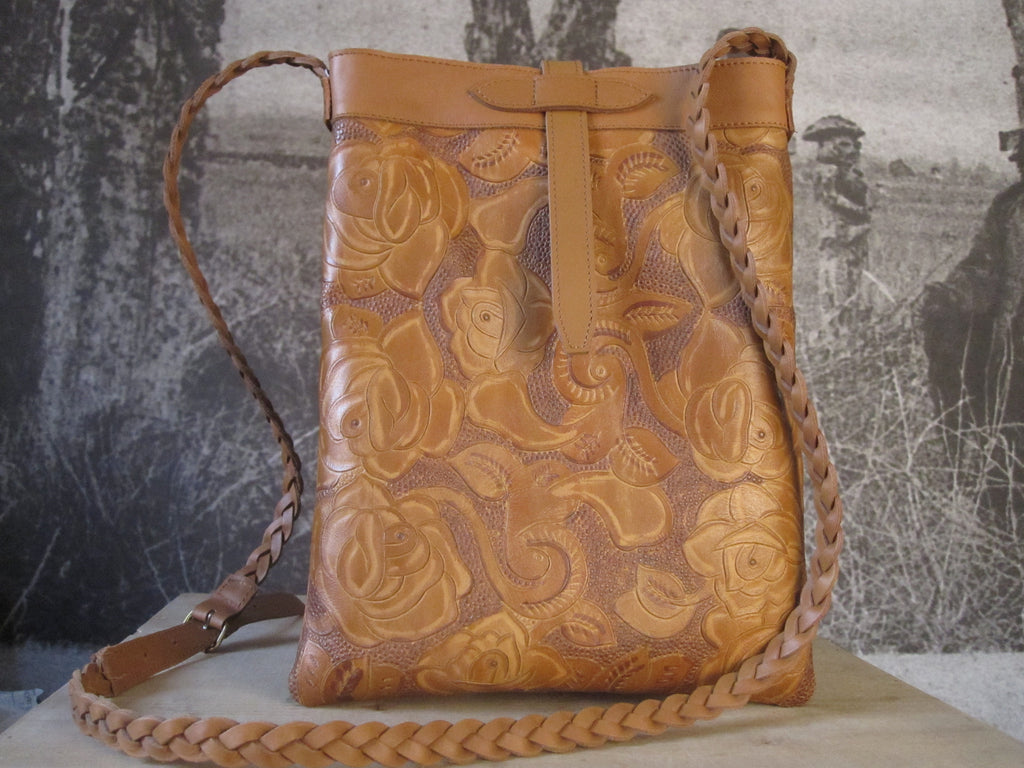 CollardManson Tote - Tooled Tan