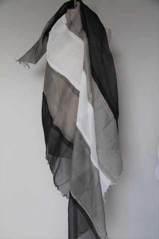 Rundholz SS18 3961403 Scarf grey mix