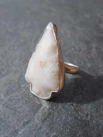 WDTS 925 Silver arrowhead ring