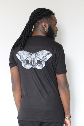 Window Dressing The Soul Twist T-Shirt- Moth on Back